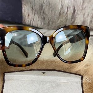 Original Gucci Tortoise Shell Sunglasses